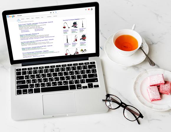 Google AdWords og Shopping
